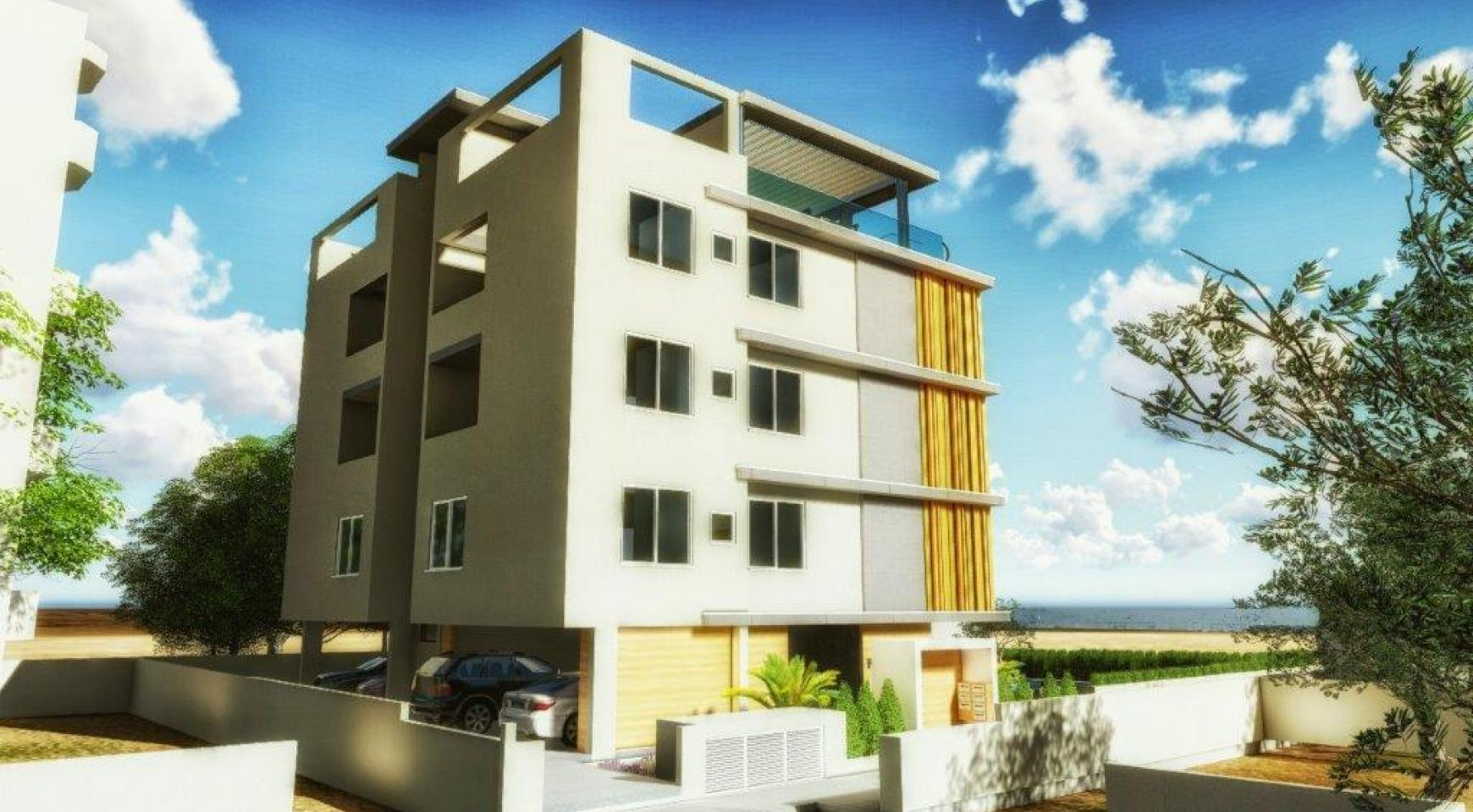 Новая 3-Спальная Квартира в Районе Agios Tychonas - 10