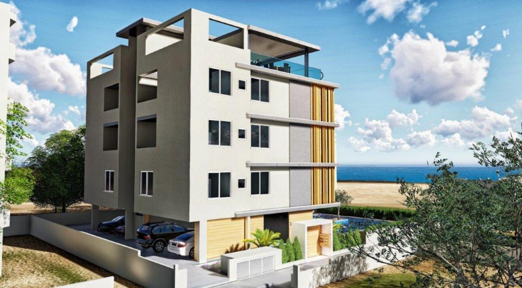 Новая 3-Спальная Квартира в Районе Agios Tychonas - 12