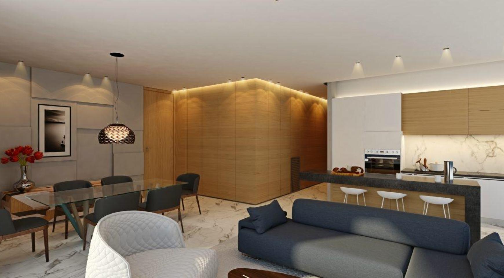 Современная 3-Спальная Квартира в Новом Уникальном Проекте у Моря - 16