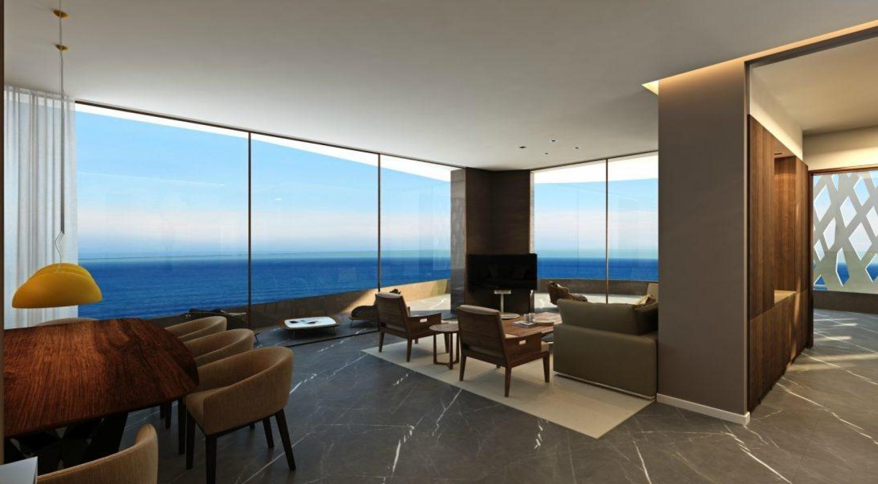 Современная 3-Спальная Квартира в Новом Уникальном Проекте у Моря - 17