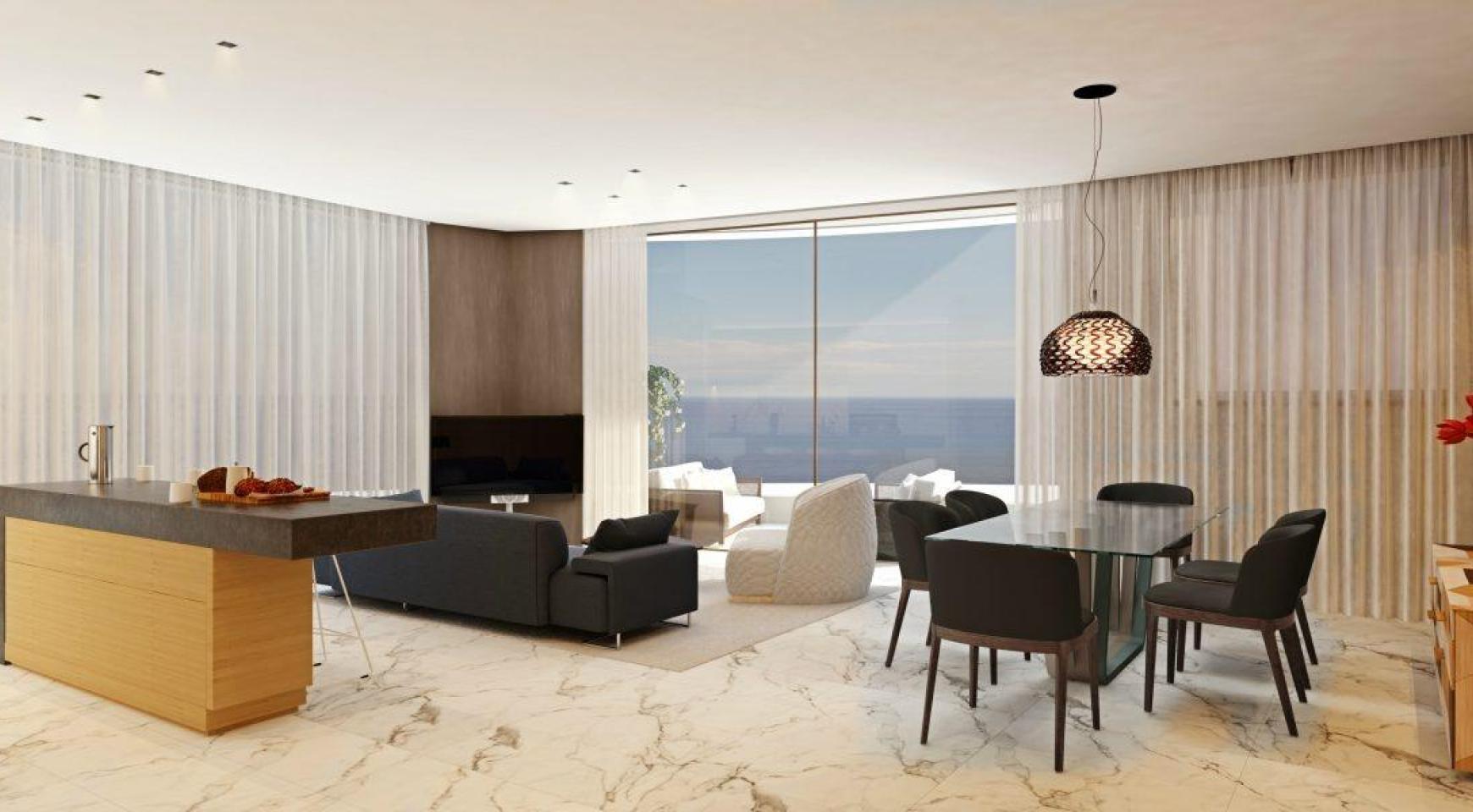 Современная 3-Спальная Квартира в Новом Уникальном Проекте у Моря - 1