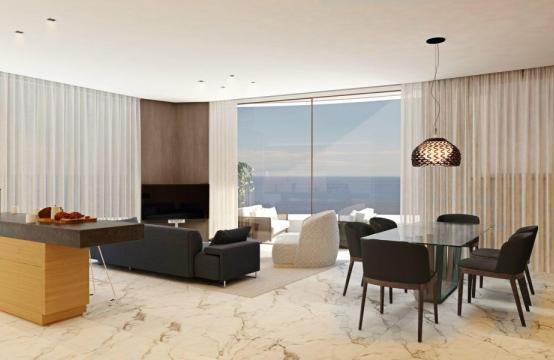3-Спальная Квартира в Новом Уникальном Проекте у Моря