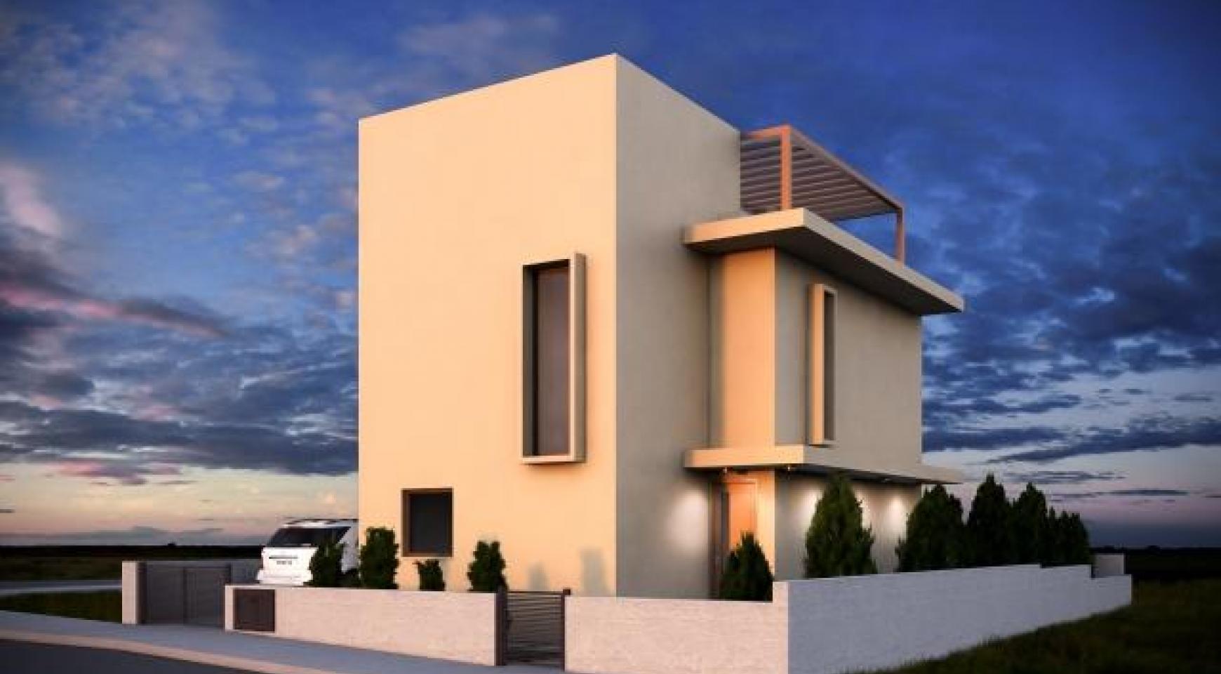Новый Современный 3-Спальный Дом в Центре Города - 3