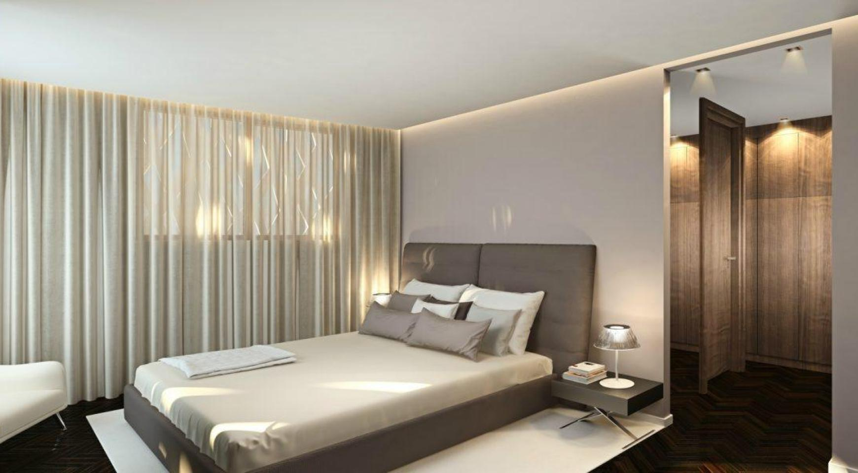 Современный 4-Спальный Пентхаус в Новом Уникальном Проекте у Моря - 18
