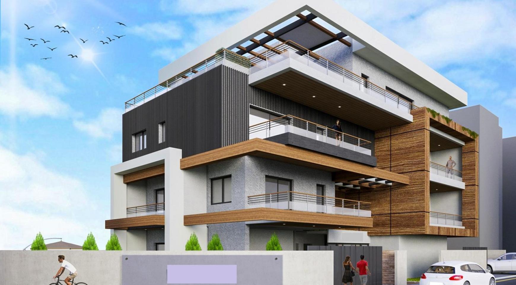 Новая Двухуровневая Квартира с 3 Спальнями в Современном Здании в Районе Columbia - 3
