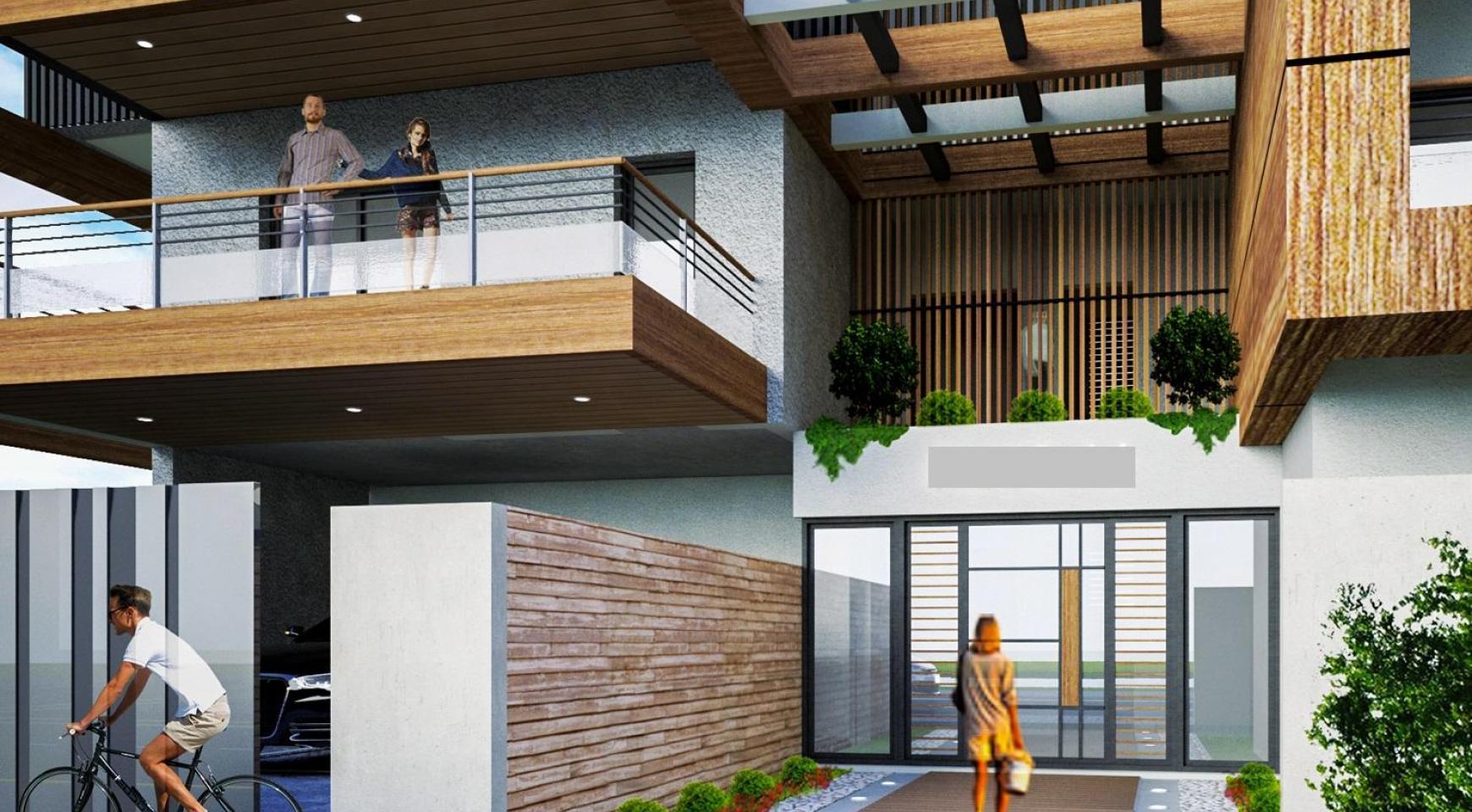 Новая Двухуровневая Квартира с 3 Спальнями в Современном Здании в Районе Columbia - 4