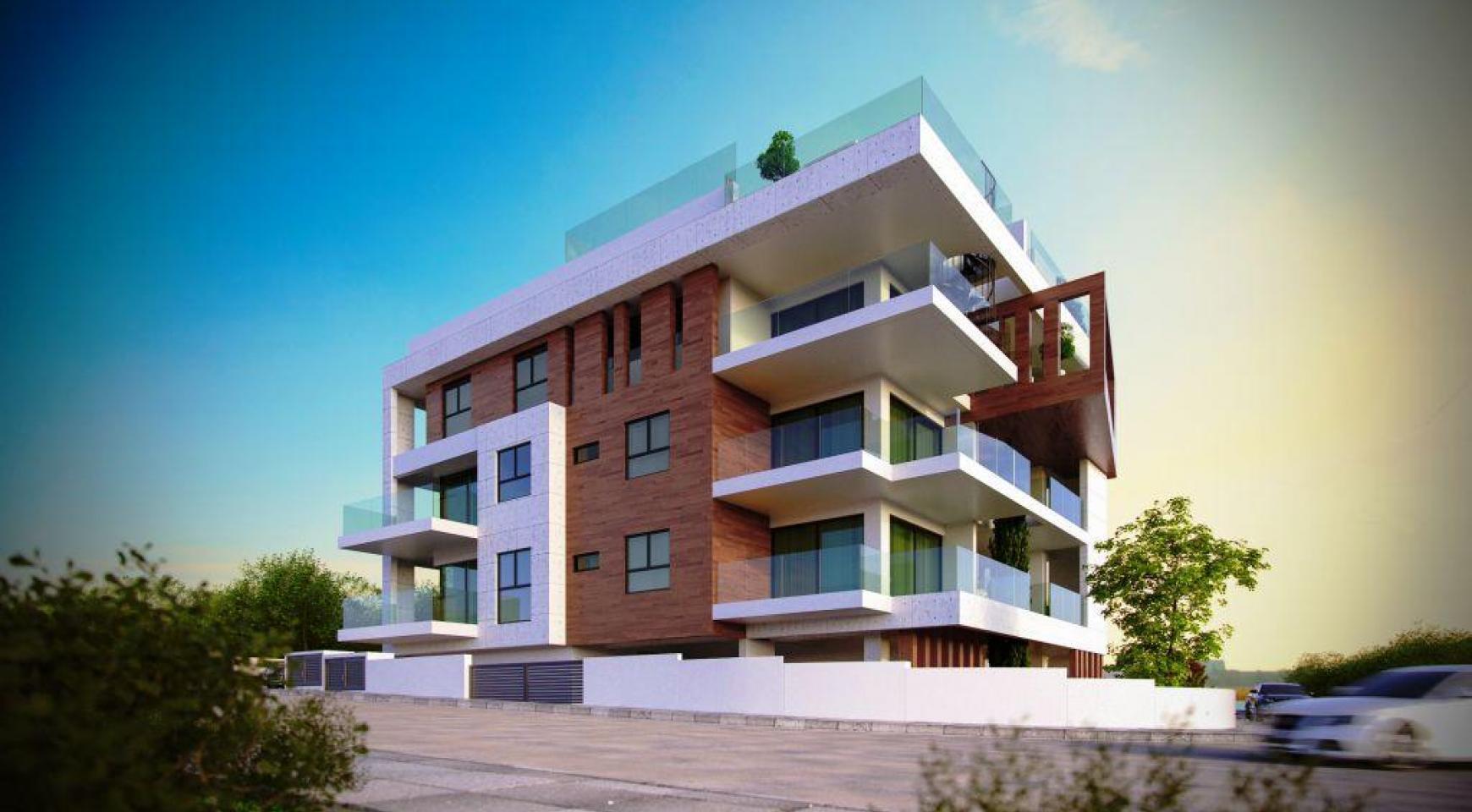 Современная Односпальная Квартира в Новом Проекте в Районе Columbia - 6