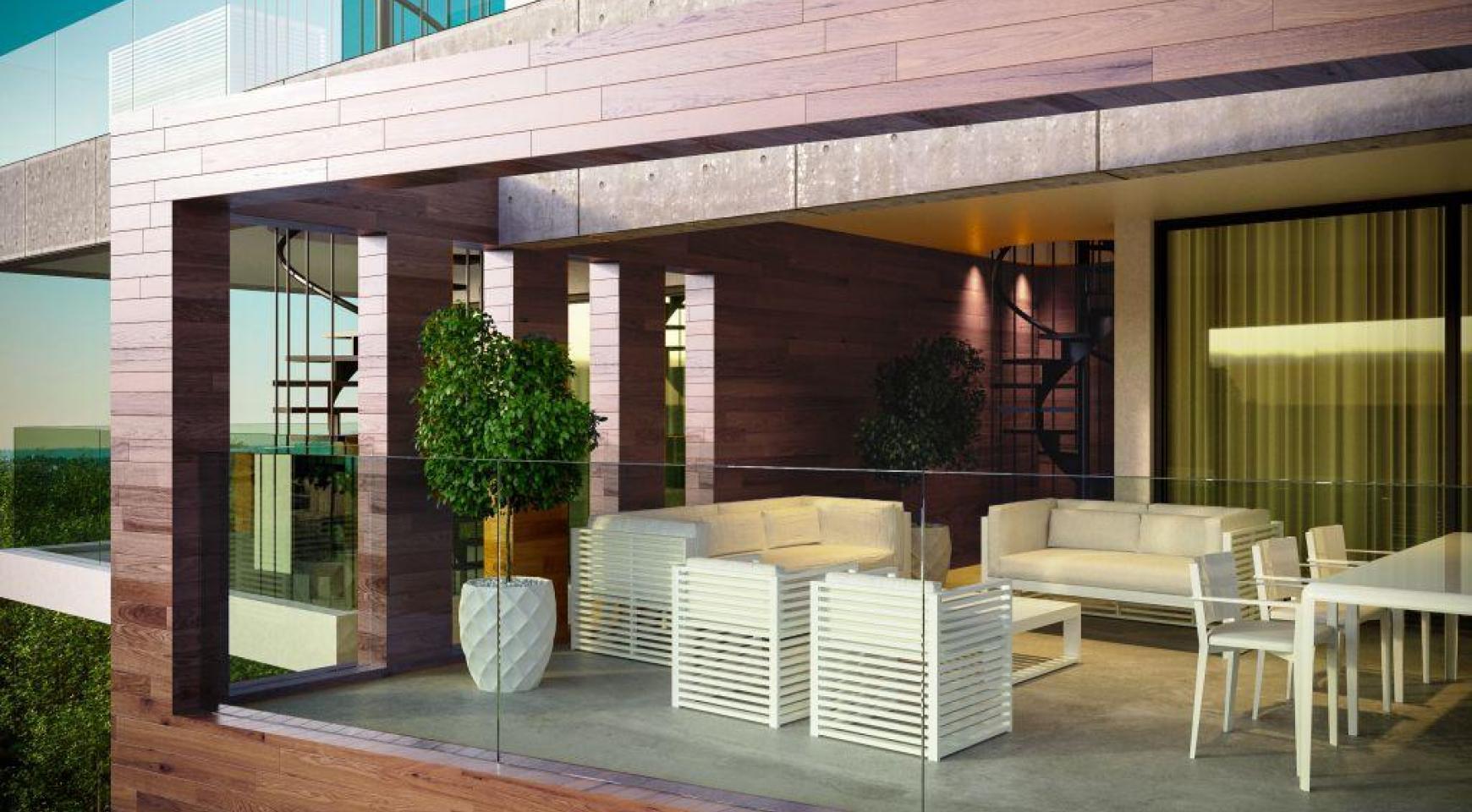 Современная Односпальная Квартира в Новом Проекте в Районе Columbia - 11