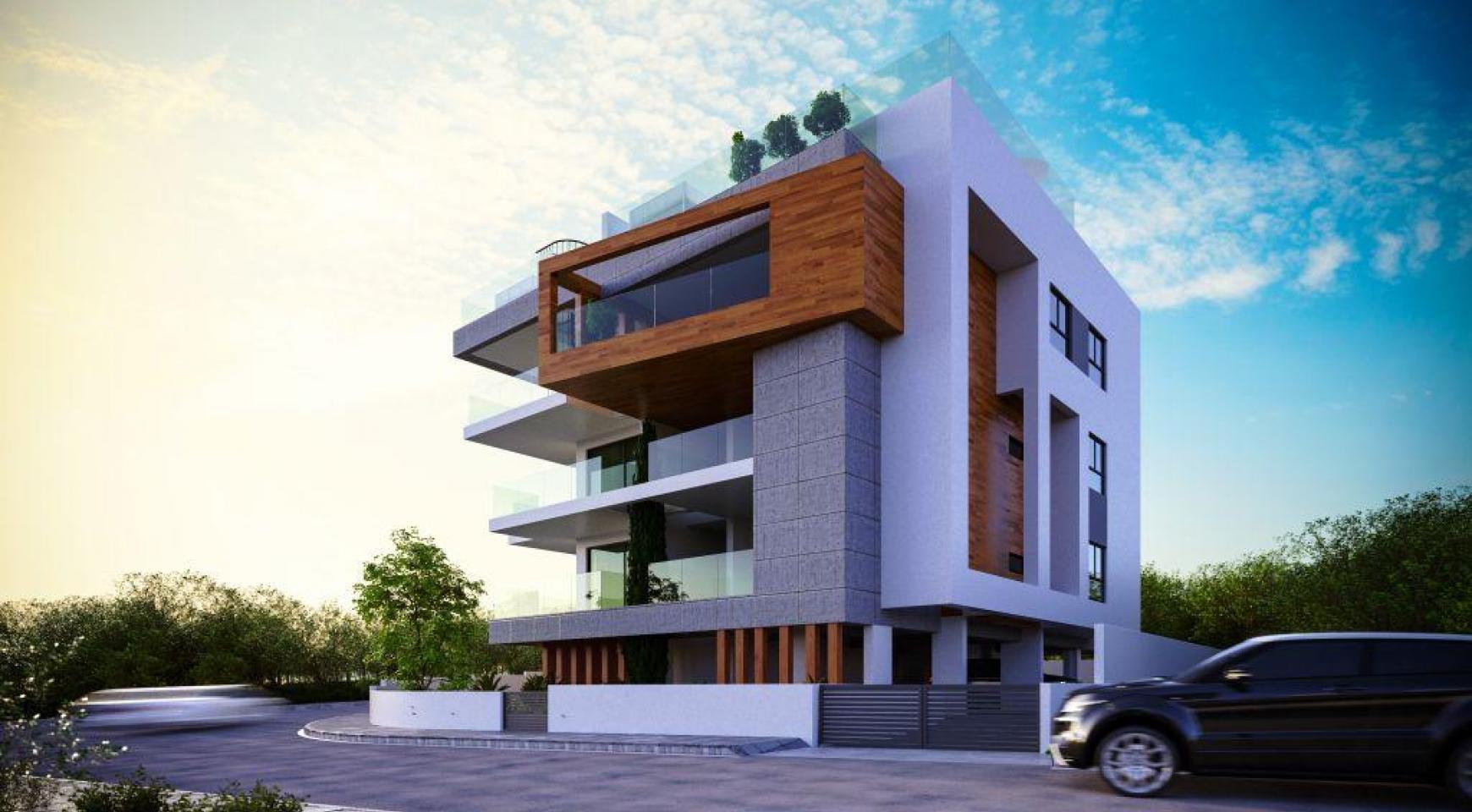 Современная Односпальная Квартира в Новом Проекте в Районе Columbia - 5