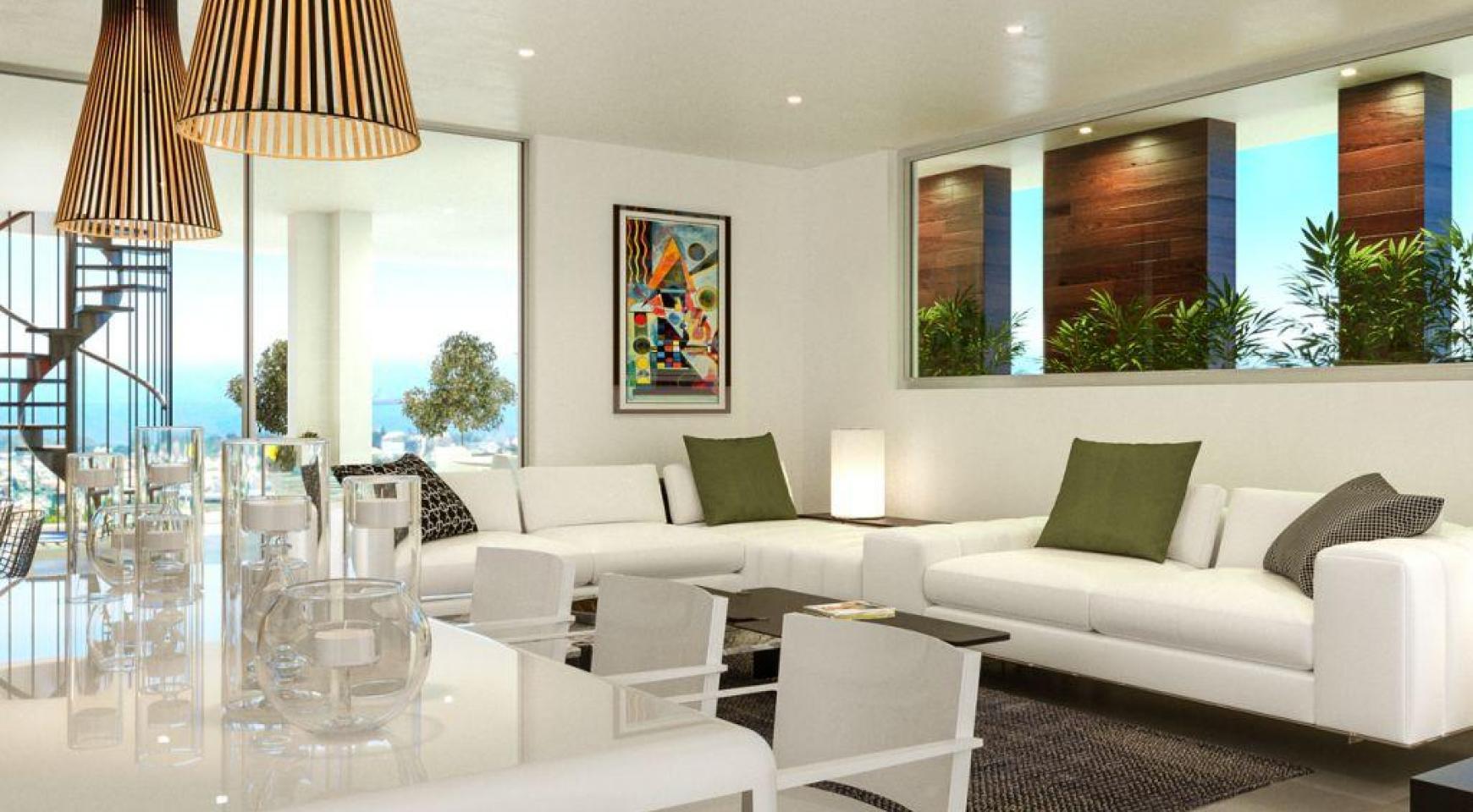 Современная 2-Спальная Квартира в Новом Проекте в Районе Columbia  - 1