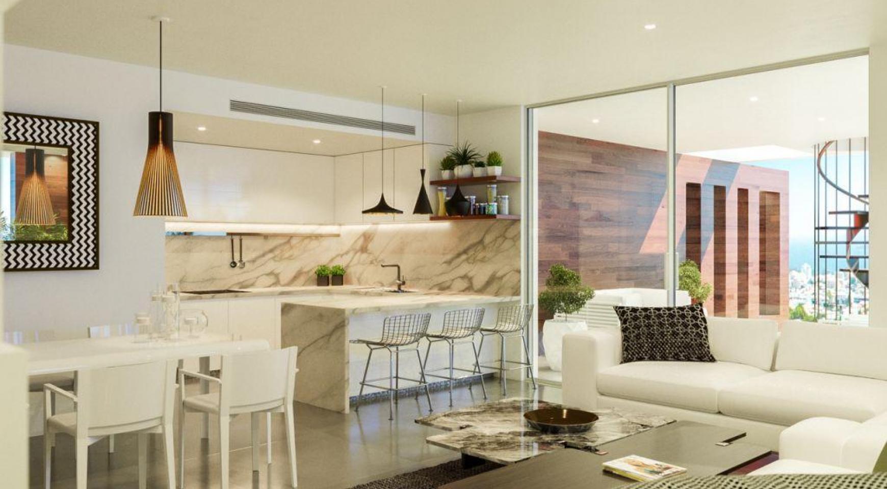 Современная 2-Спальная Квартира в Новом Проекте в Районе Columbia  - 3