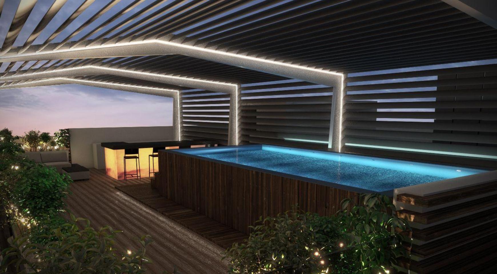 Новая 2-Спальная Квартира с Видом на Море в Туристической Зоне - 6