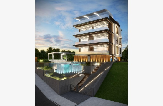 Новая 2-Спальная Квартира с Видом на Море в Туристической Зоне