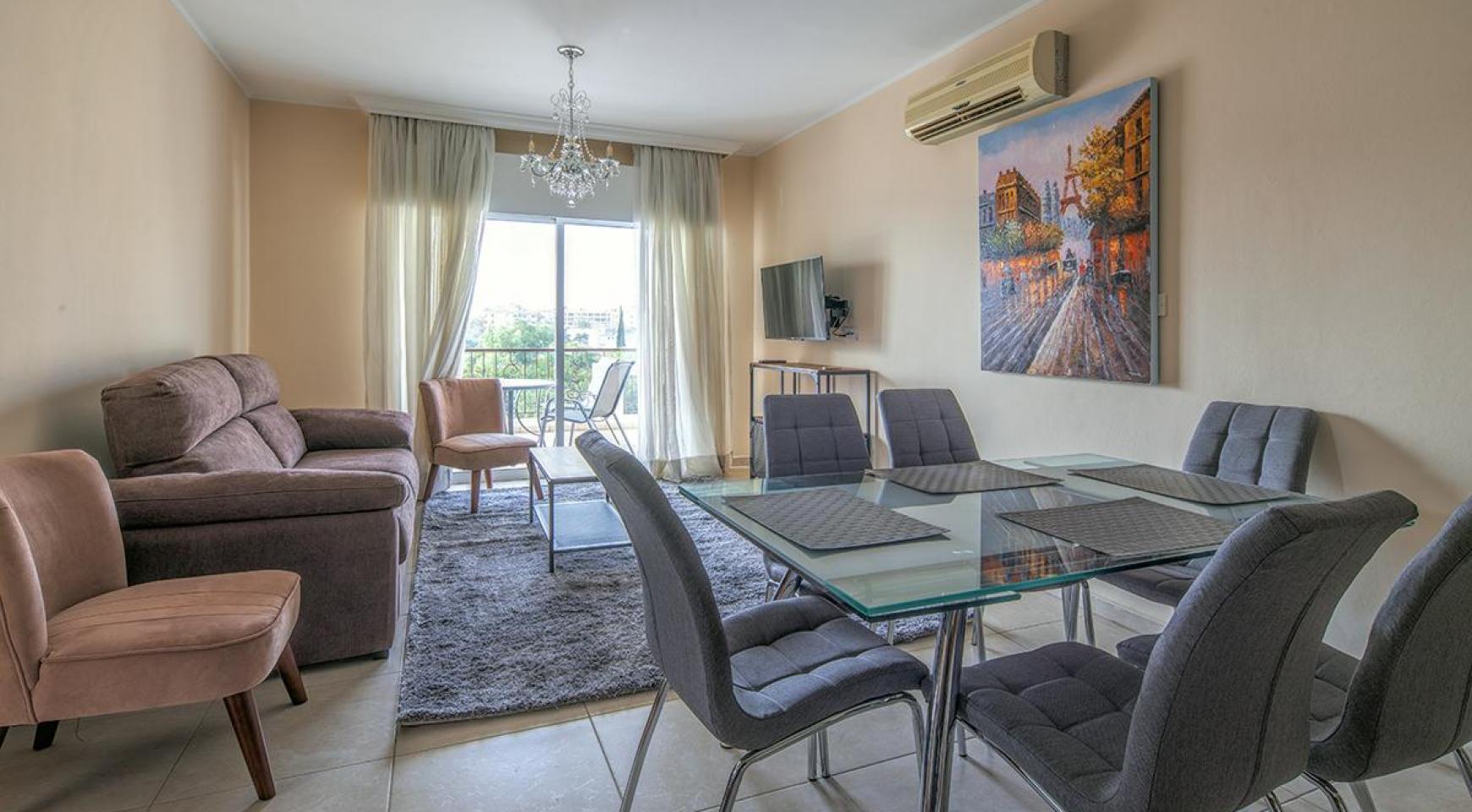 """2-Спальная Квартира - Люкс """"Mesogios Iris 301"""" в Туристической Зоне возле Моря - 3"""