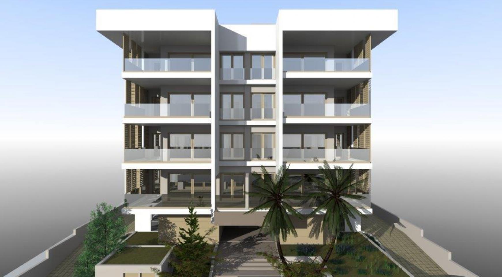 Новая Просторная 3-Спальная Квартира возле Моря - 9
