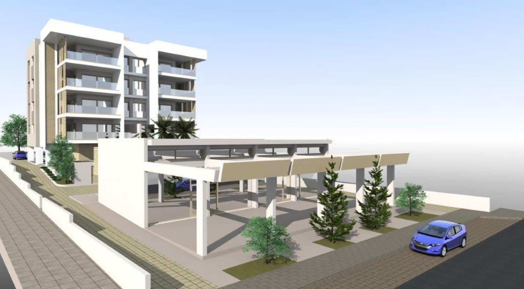 Новая Просторная 3-Спальная Квартира возле Моря - 3