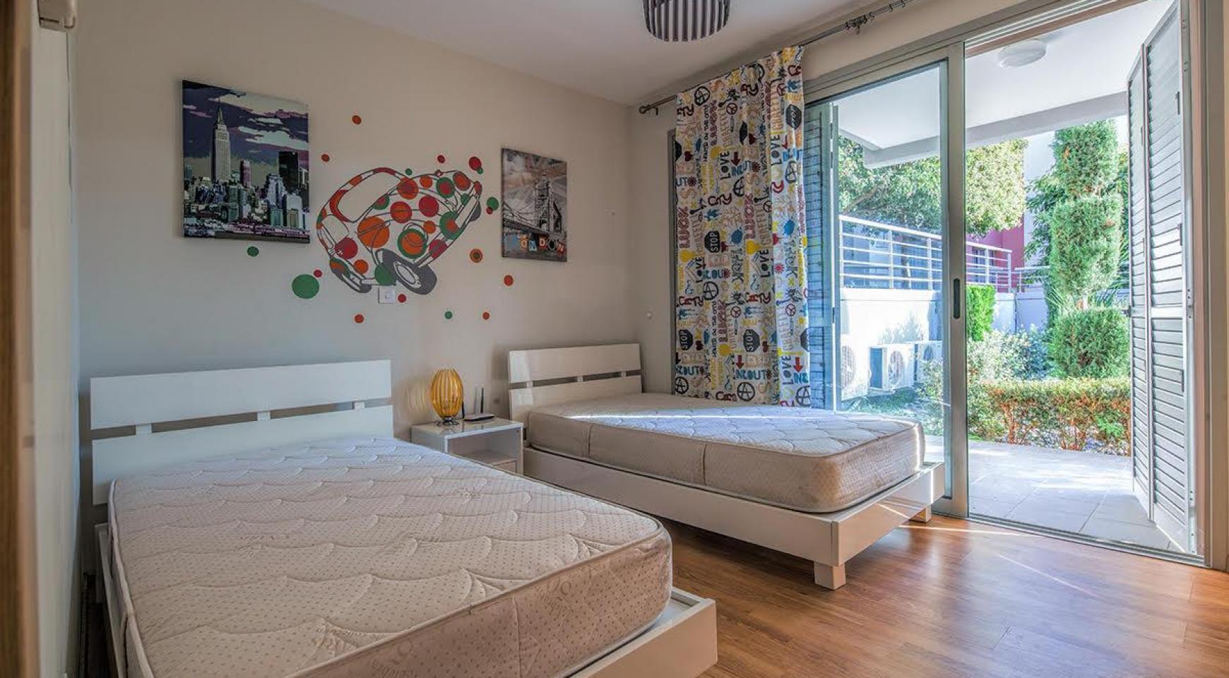2-Спальная Двухуровневая Квартира Amathusa O 104 в Престижном Комплексе возле Моря - 13