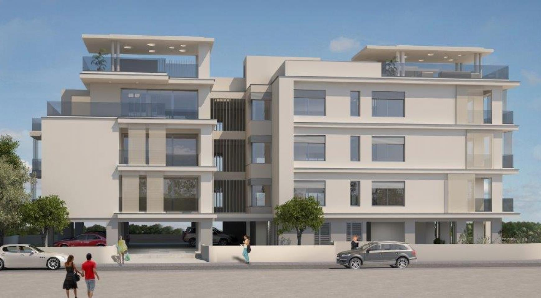 Новое Жилое Здание в Центре Города - 5