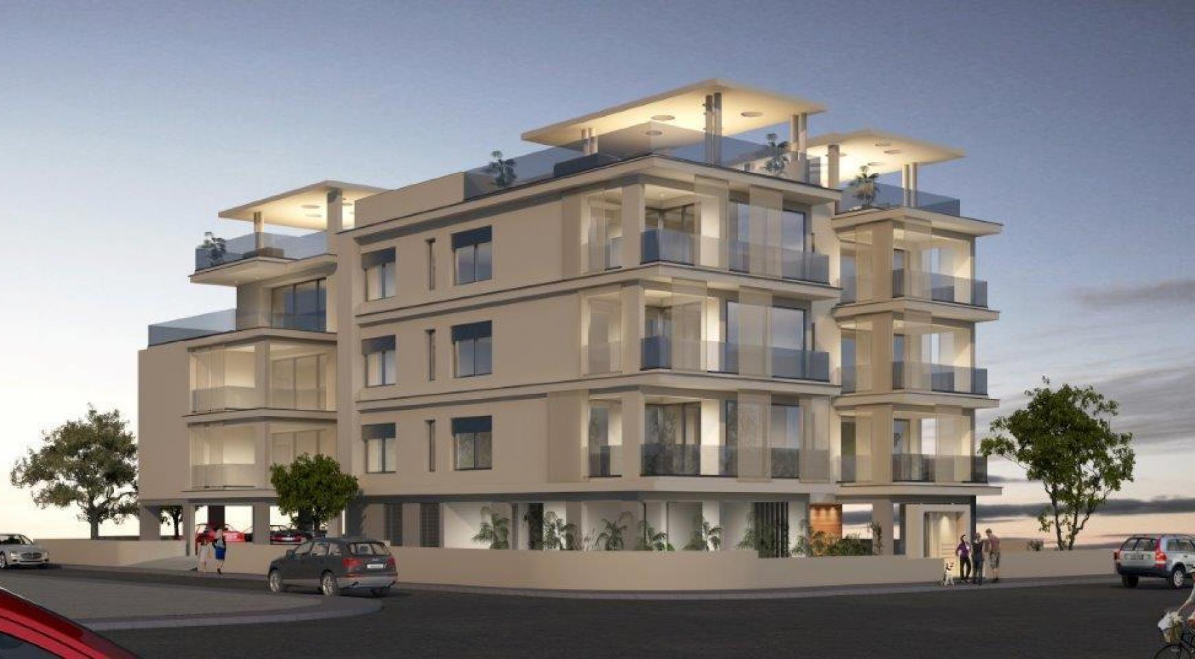 Новое Жилое Здание в Центре Города - 7