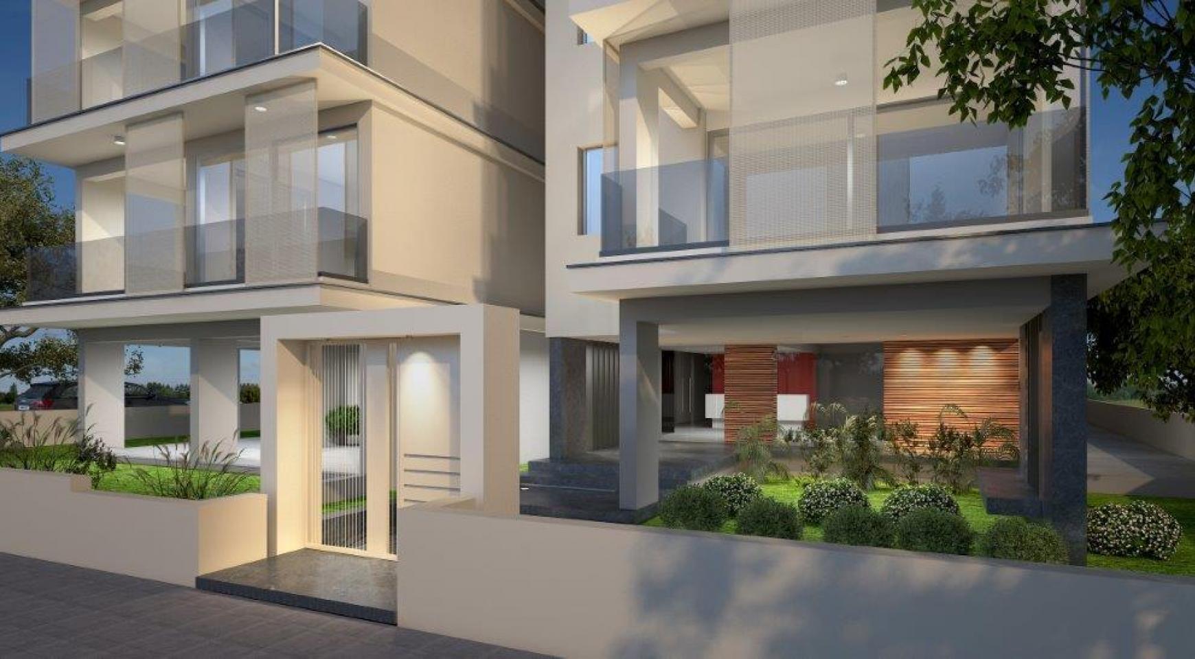 Новое Жилое Здание в Центре Города - 9