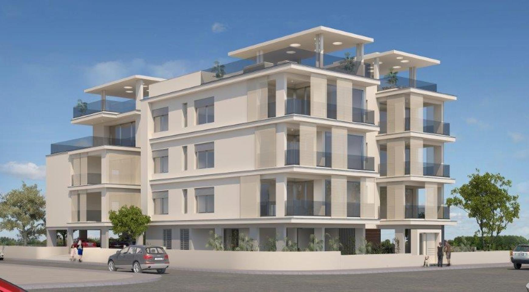 Новое Жилое Здание в Центре Города - 4