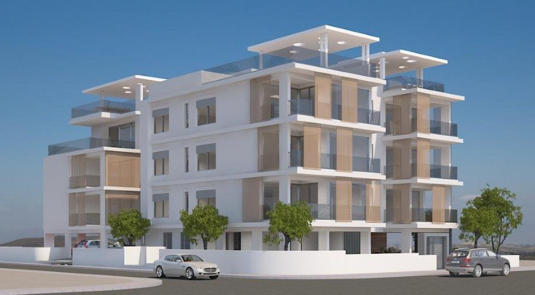 Новое Жилое Здание в Центре Города - 2