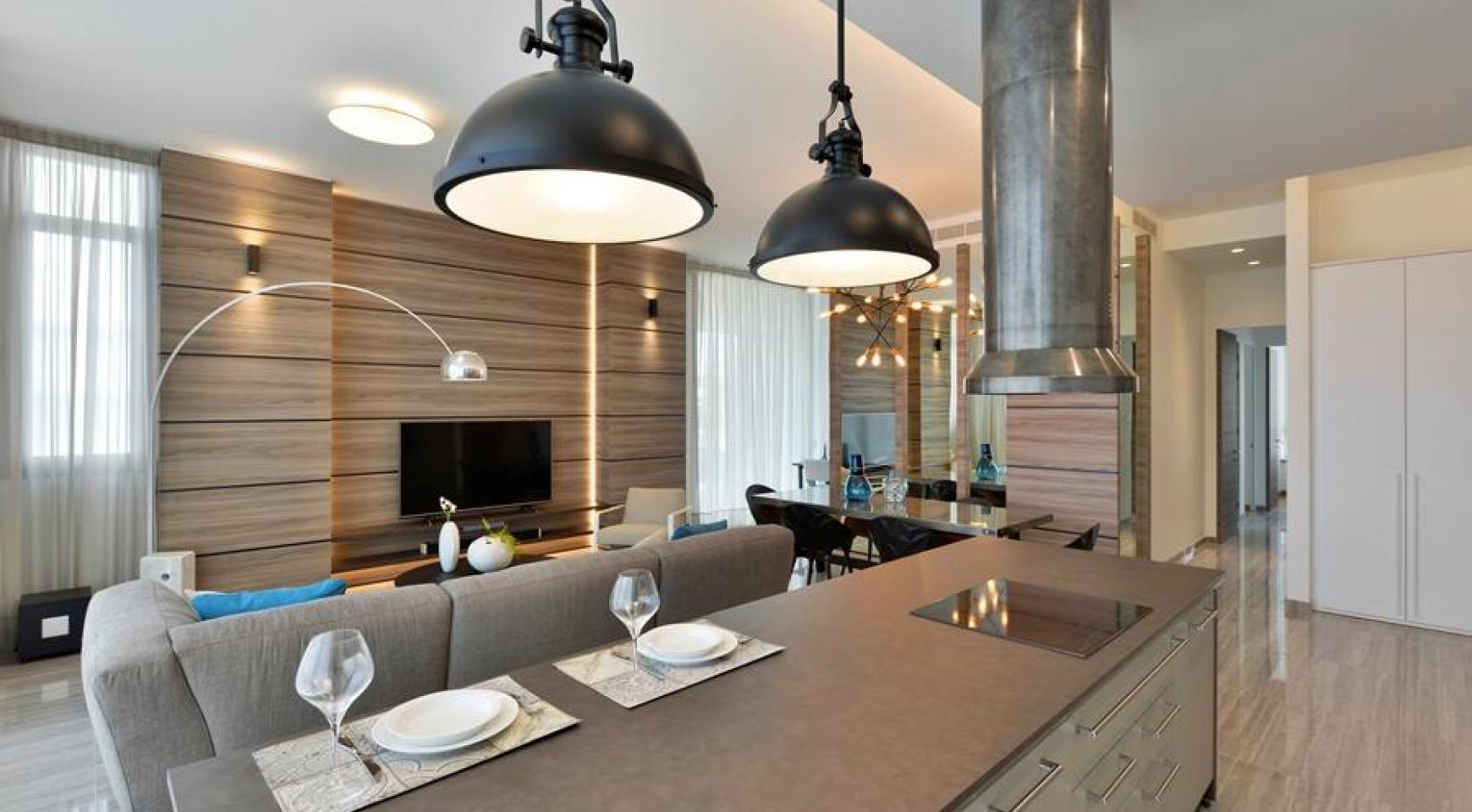 Новая Элитная 2-Спальная Квартира с Видом на Море в Туристической Зоне - 5
