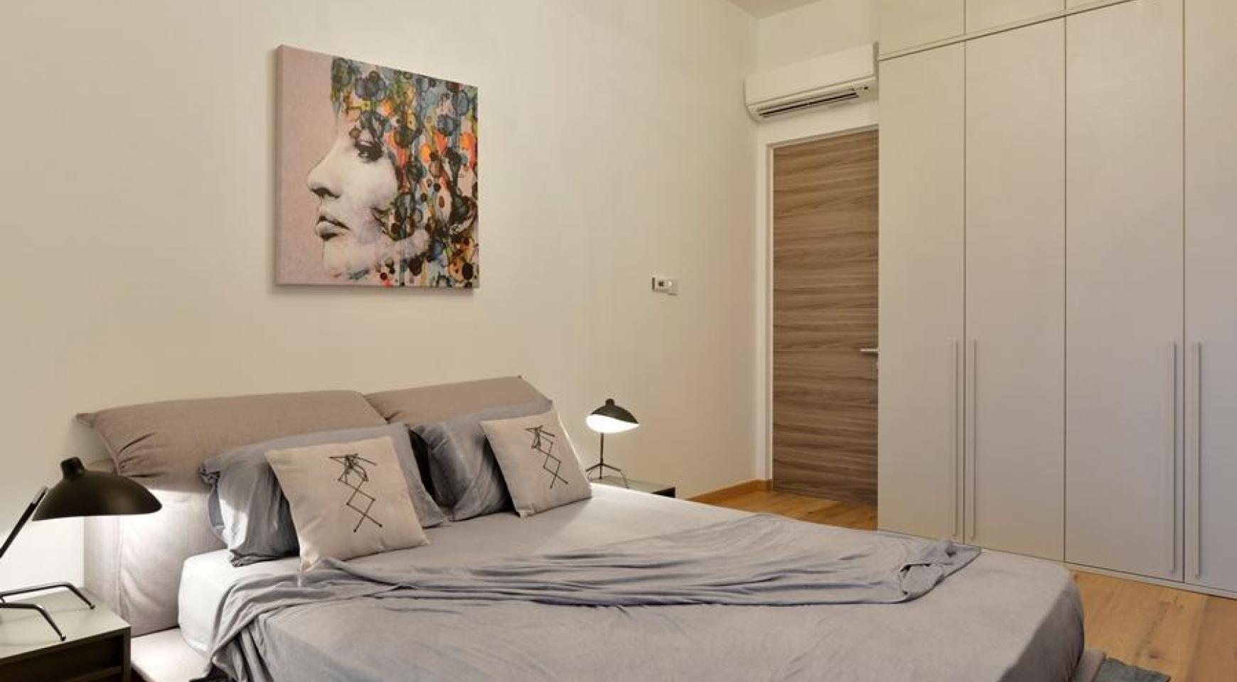 Новая Элитная 2-Спальная Квартира с Видом на Море в Туристической Зоне - 16