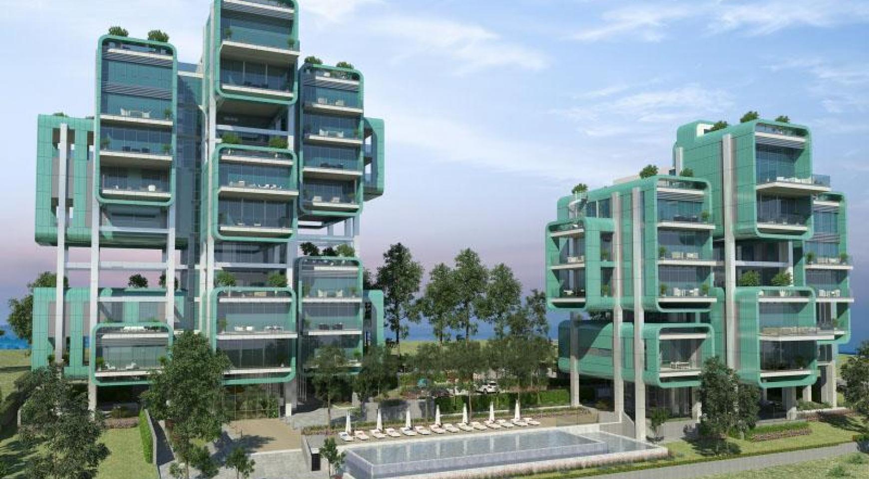 Новая Элитная 2-Спальная Квартира с Видом на Море в Туристической Зоне - 25