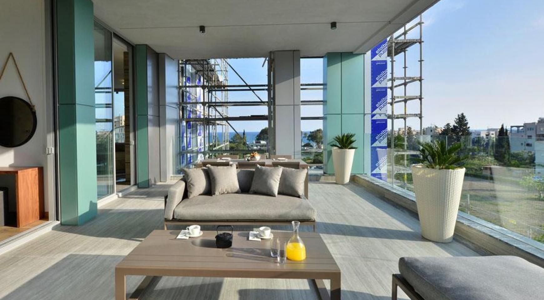Новая Элитная 2-Спальная Квартира с Видом на Море в Туристической Зоне - 10