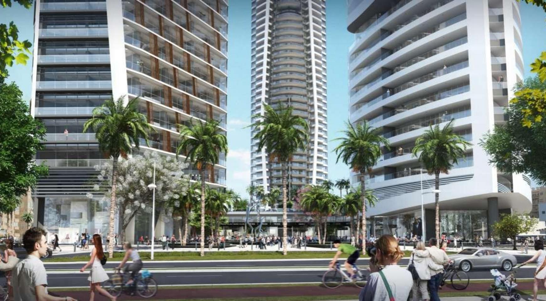 2-Спальная Квартира в новом Проекте у Моря в Центре Города - 3