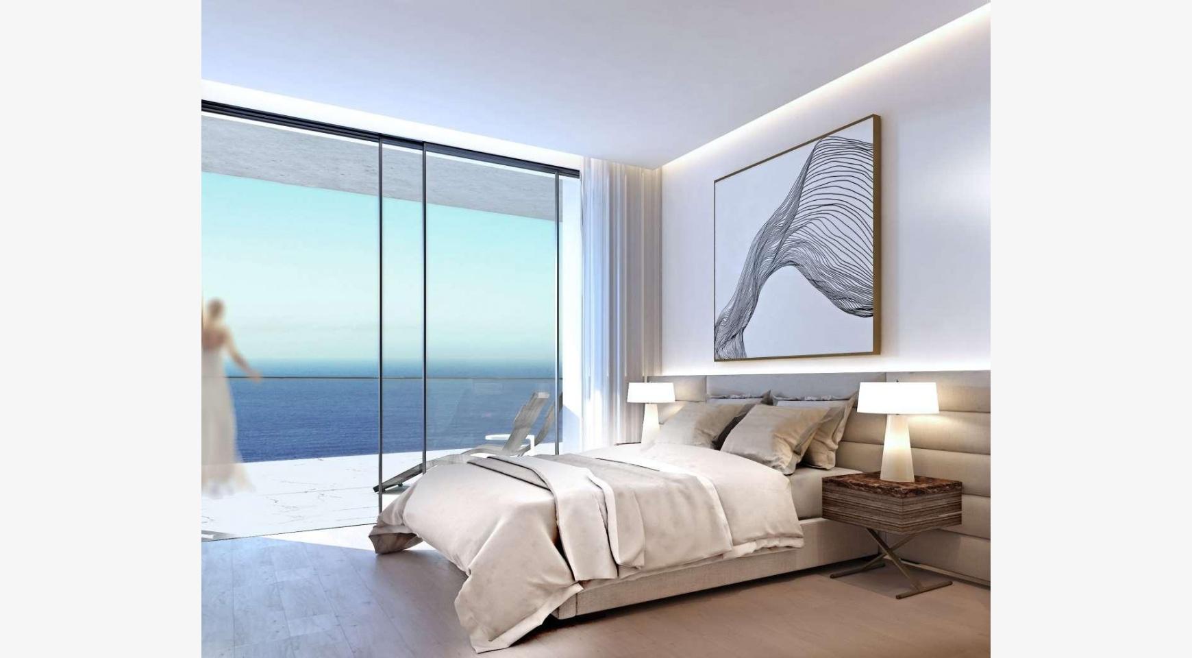 2-Спальная Квартира в новом Проекте у Моря в Центре Города - 8