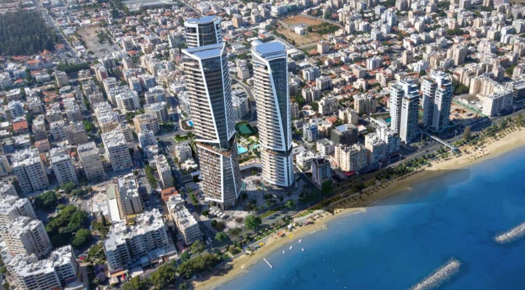 2-Спальная Квартира в новом Проекте у Моря в Центре Города - 7
