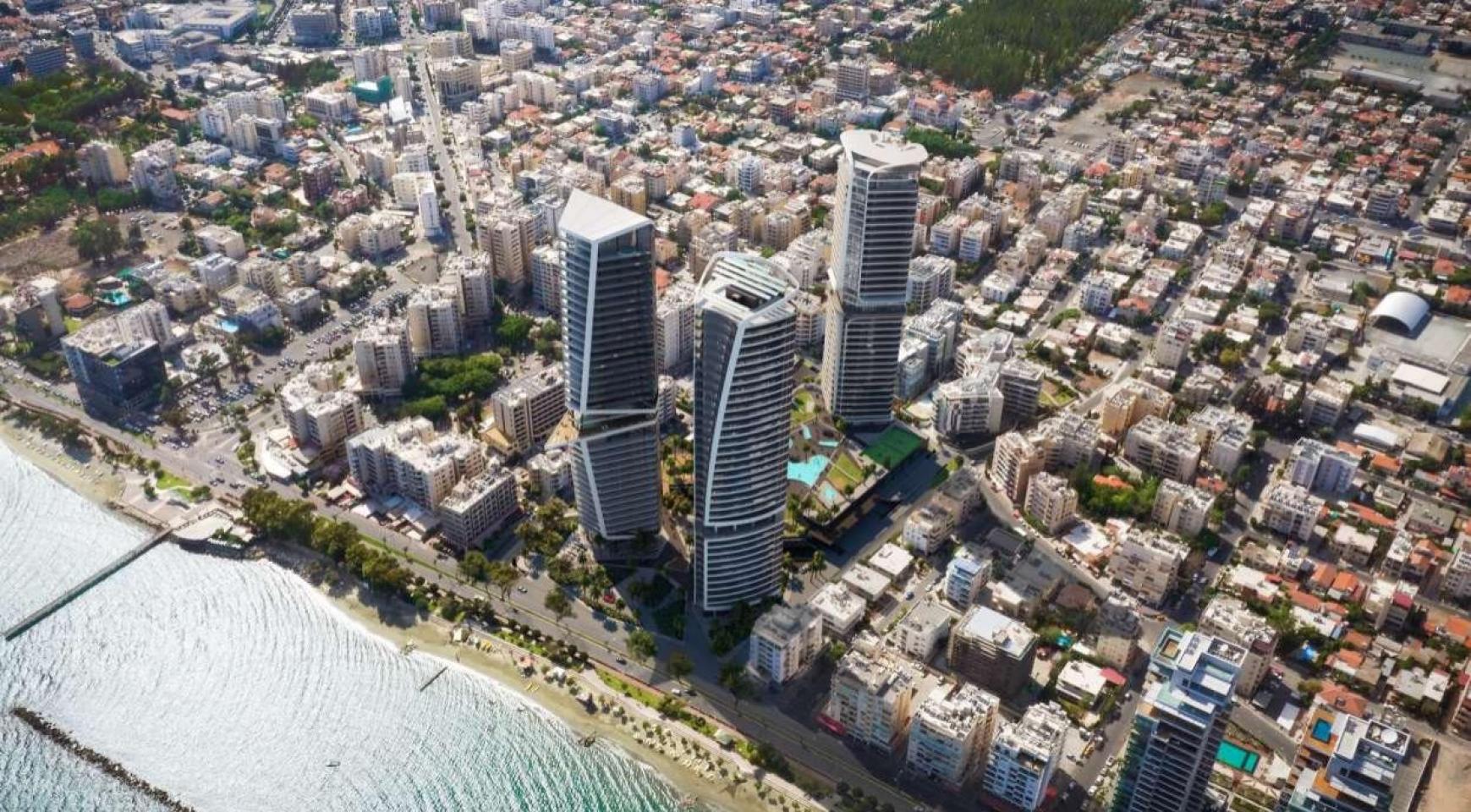 2-Спальная Квартира в новом Проекте у Моря в Центре Города - 6