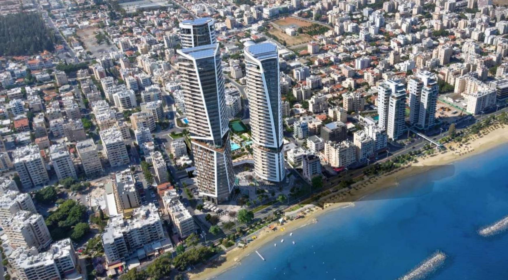 2-Спальная Квартира в новом Проекте у Моря в Центре Города - 5
