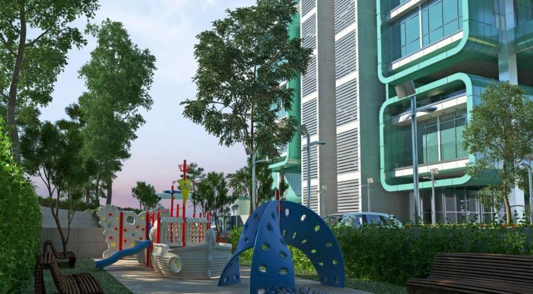 Элитная 2-Спальная Квартира с Террасой в Новом Комплексе - 32