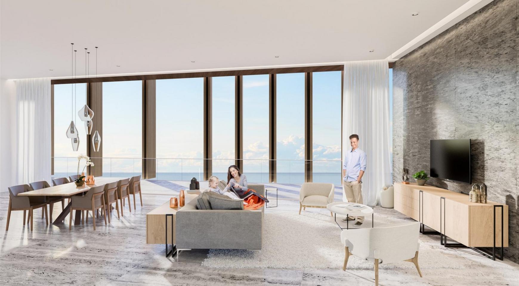 Современная 3-Спальная Квартира в Эксклюзивном Проекте у Моря - 21