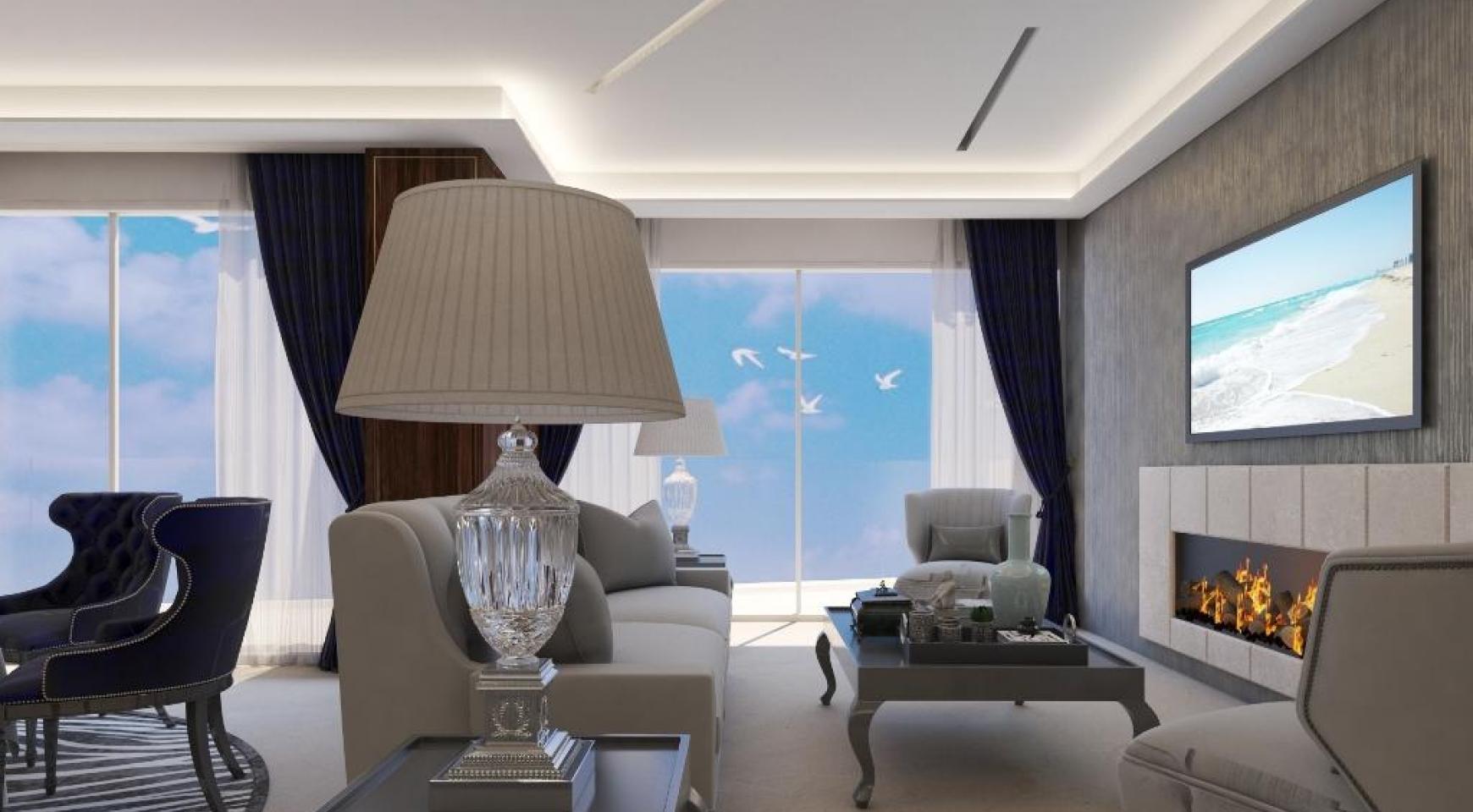 Современная Односпальная Квартира в Новом Проекте у Моря - 26