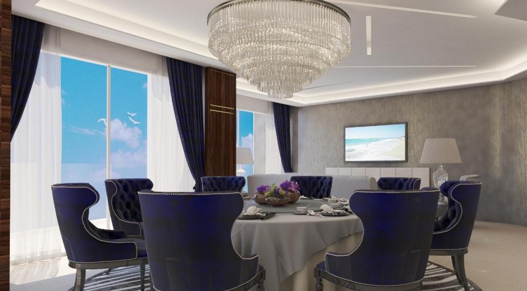 Современная Односпальная Квартира в Новом Проекте у Моря - 28