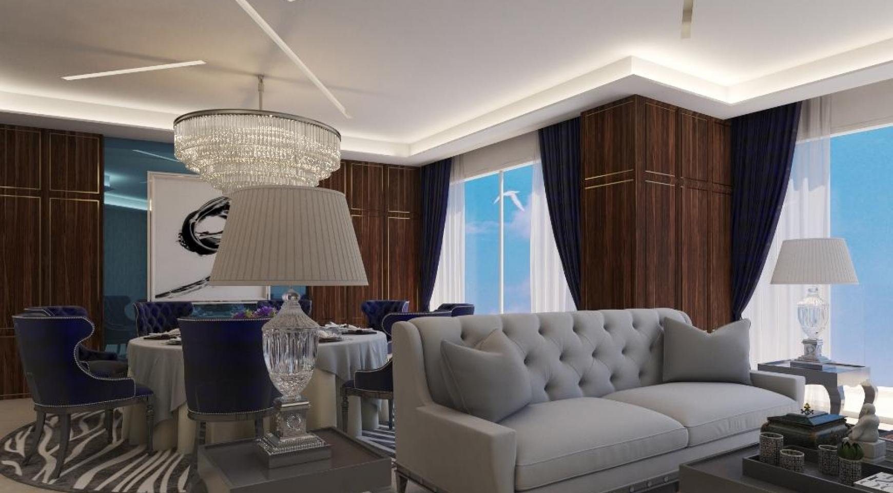 Современная Односпальная Квартира в Новом Проекте у Моря - 29