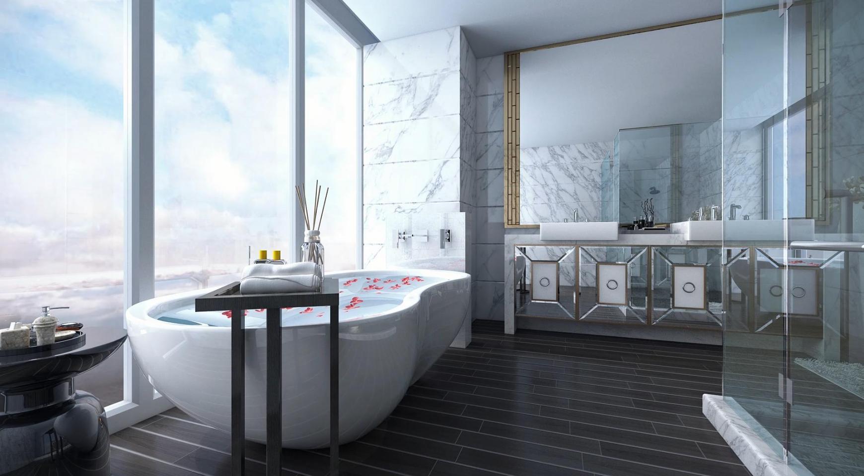 Современная Односпальная Квартира в Новом Проекте у Моря - 32