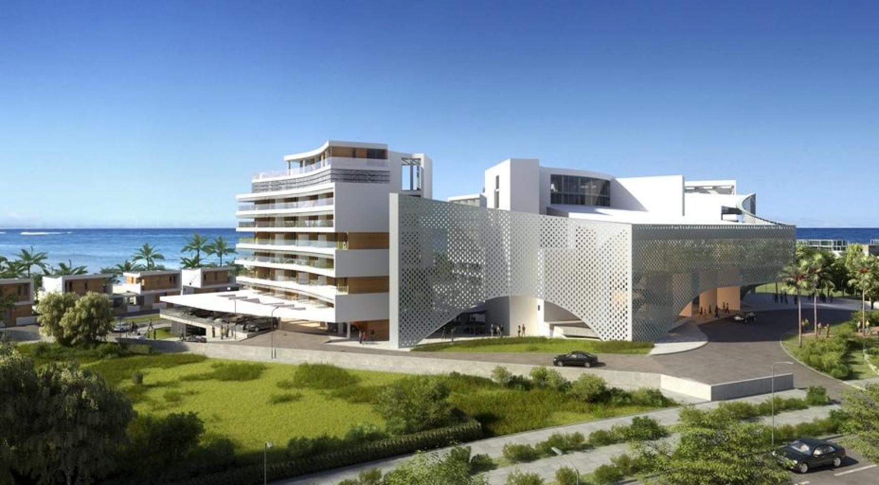Современная Односпальная Квартира в Новом Проекте у Моря - 21