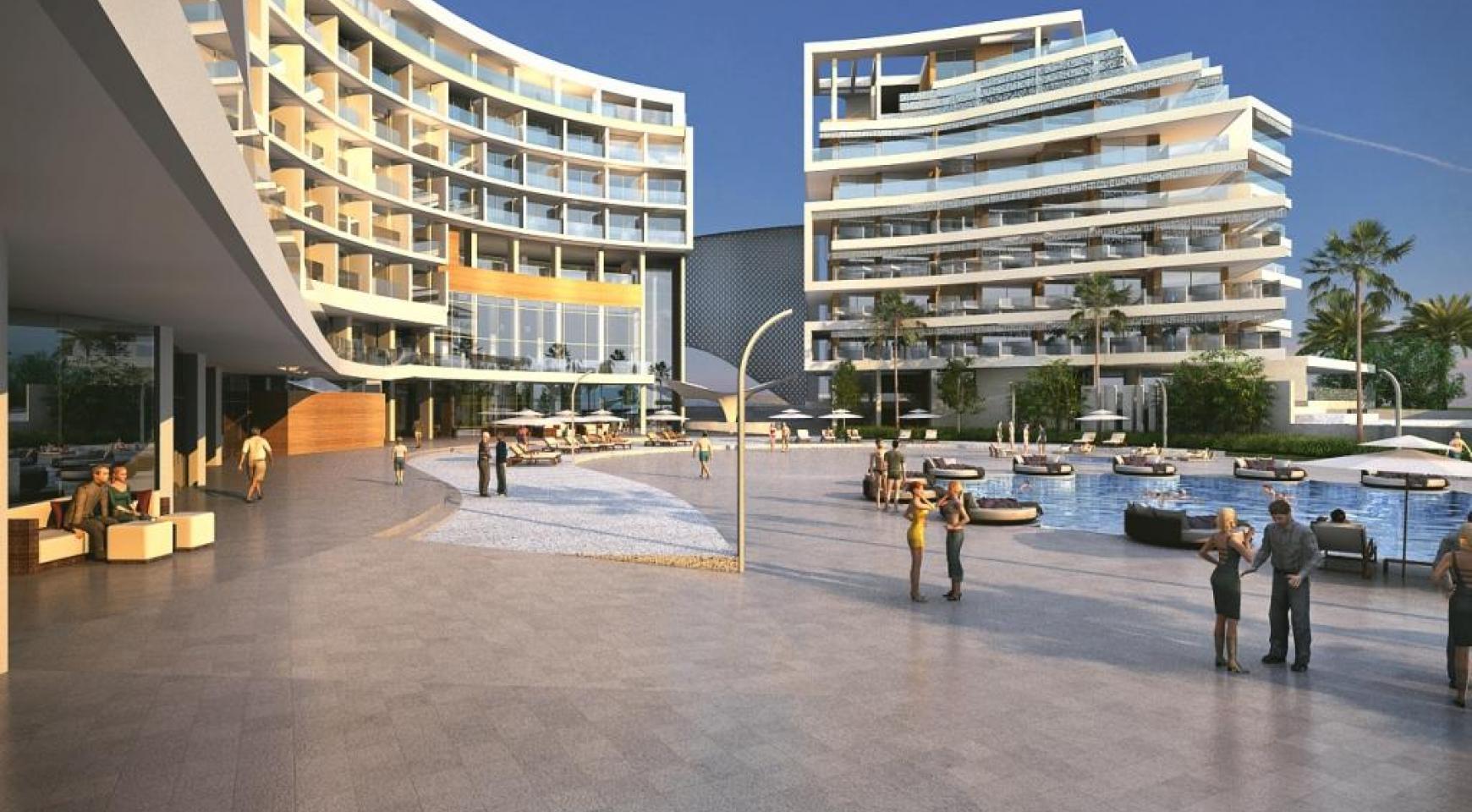 Современная 2-Спальная Квартира в Новом Проекте у Моря - 1
