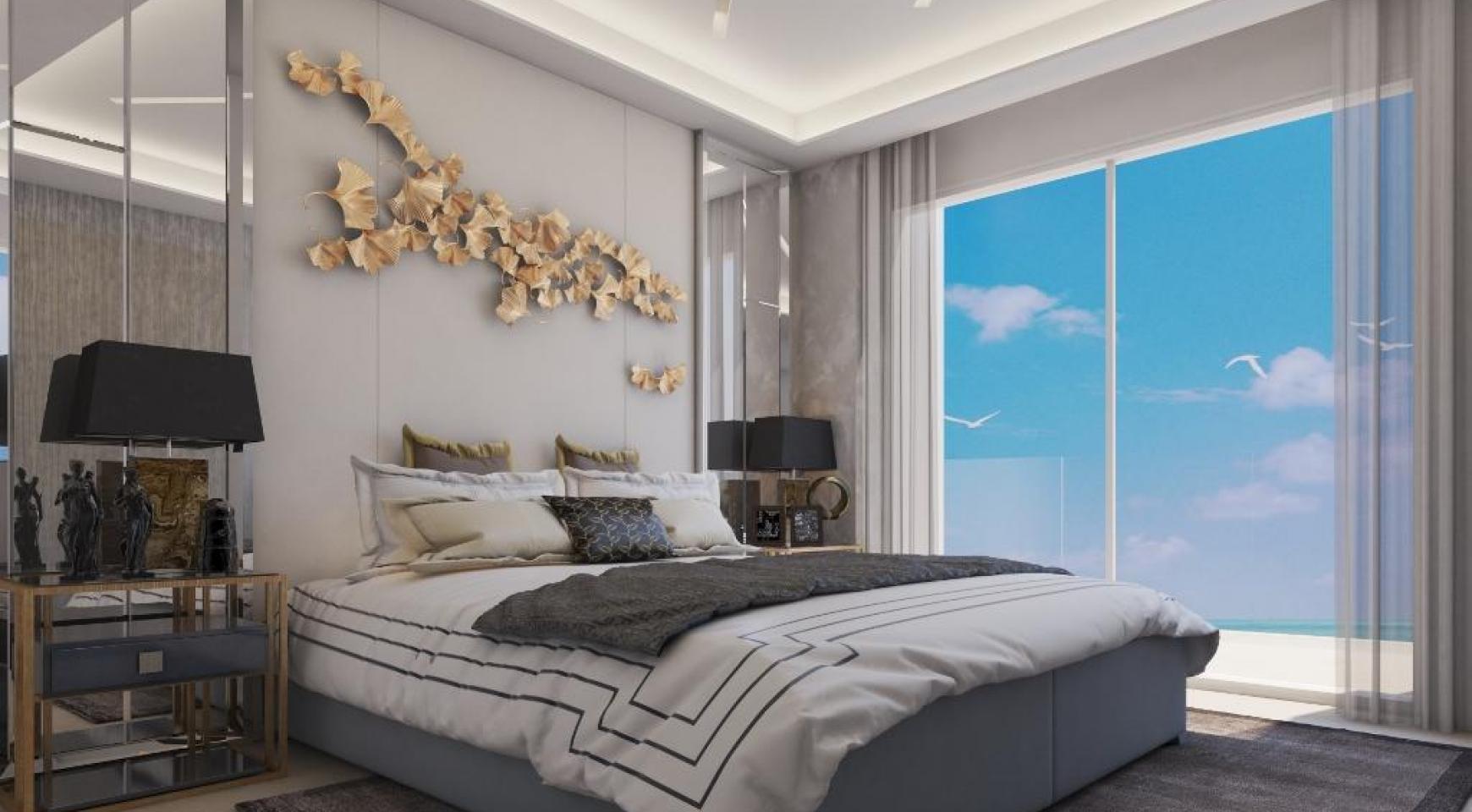 Современная 2-Спальная Квартира в Новом Проекте у Моря - 29