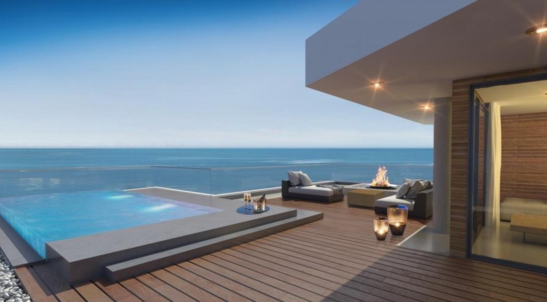 Современная 2-Спальная Квартира в Новом Проекте у Моря - 22