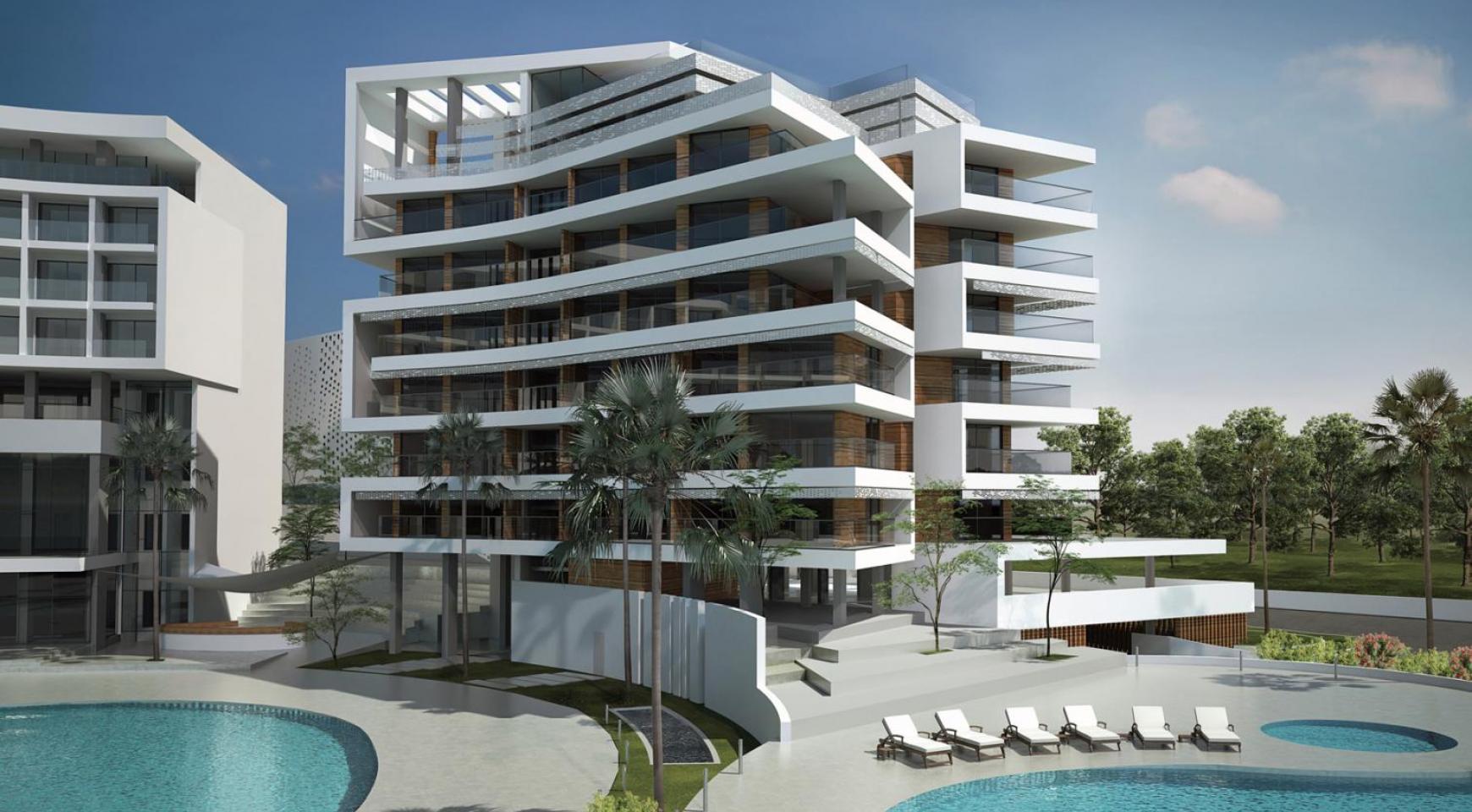 Современная 2-Спальная Квартира в Новом Проекте у Моря - 2