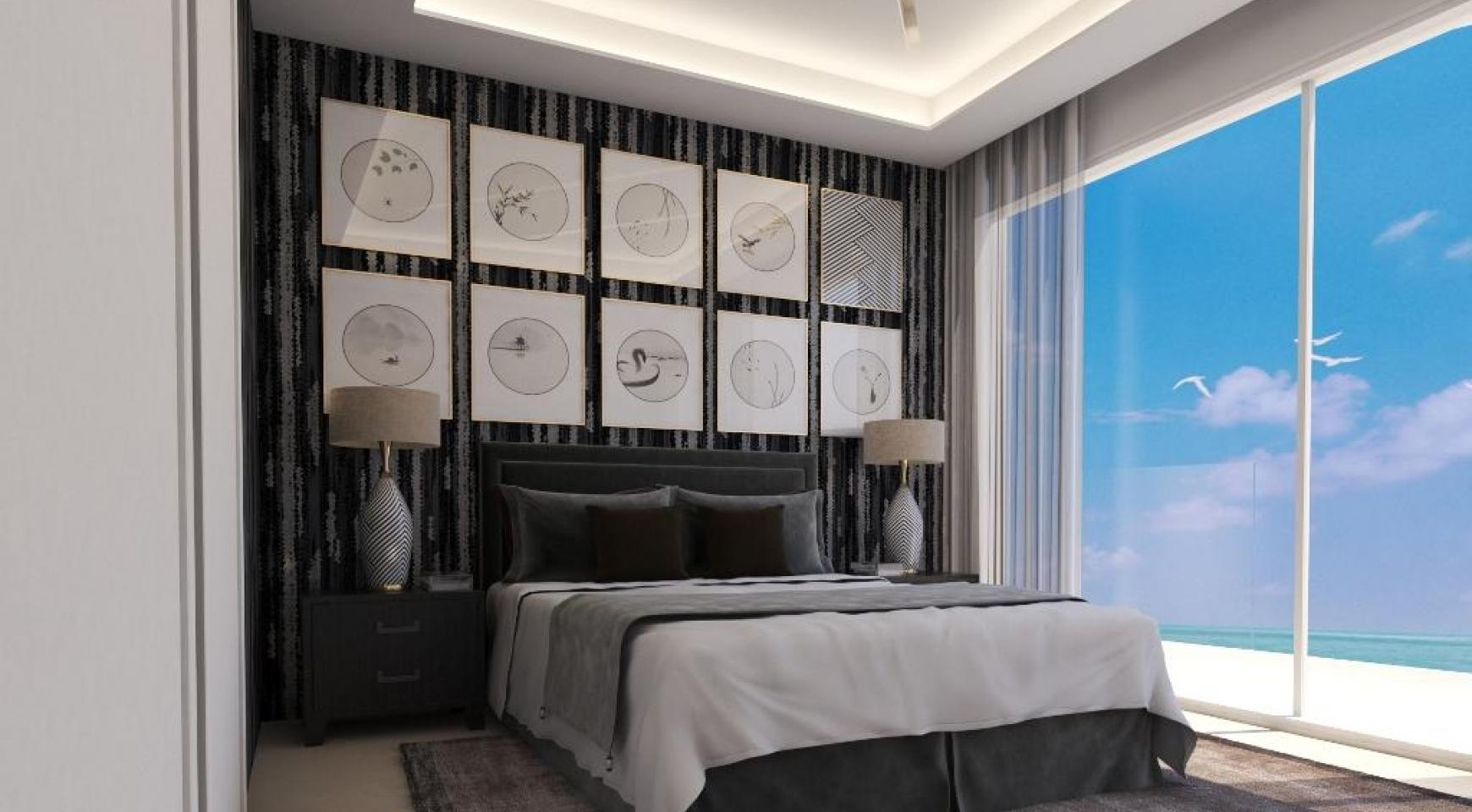 Современная 2-Спальная Квартира в Новом Проекте у Моря - 30