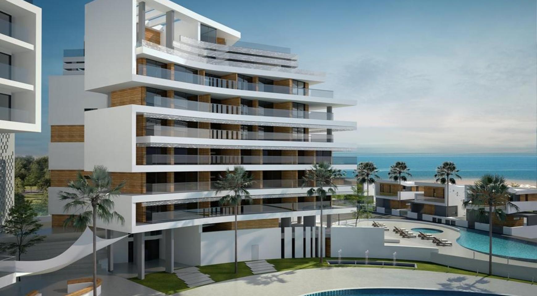 Современная 2-Спальная Квартира в Новом Проекте у Моря - 8