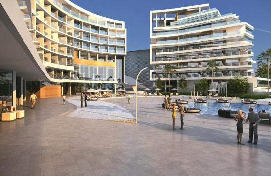 Современная 2-Спальная Квартира в Новом Проекте у Моря