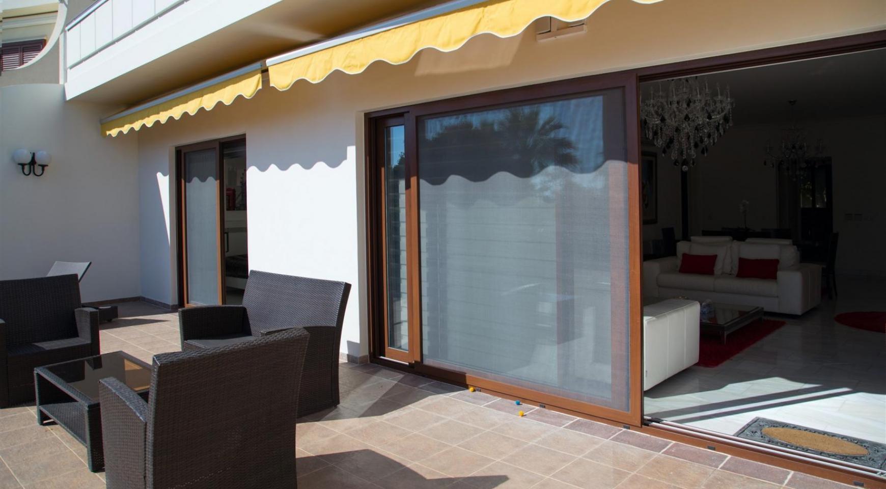 Современная 3-Спальная Квартира Категории Люкс на Берегу Моря в Комплексе Thera   - 37